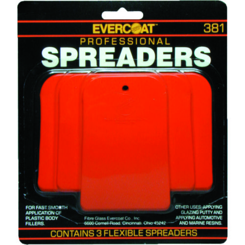 Evercoat Professional Spreaders 3-Pack