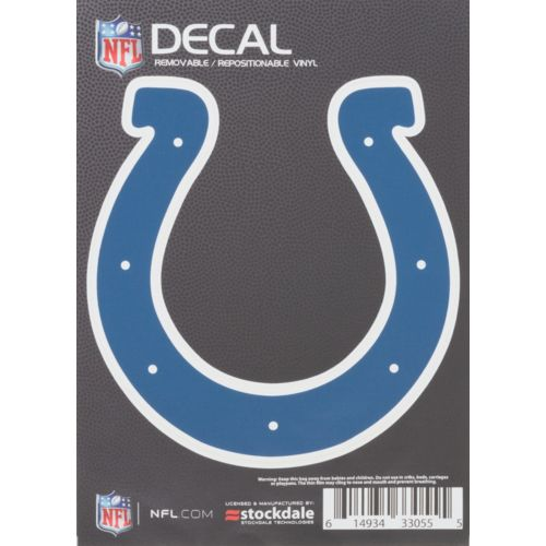 Stockdale Indianapolis Colts Repositionable Decal