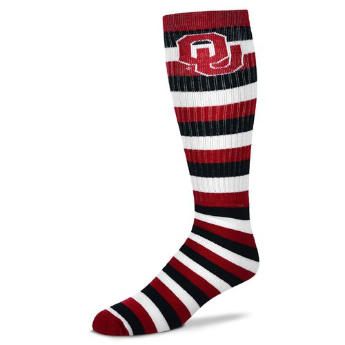 For Bare Feet Adults' University of Oklahoma Pro Stripe Tube Socks