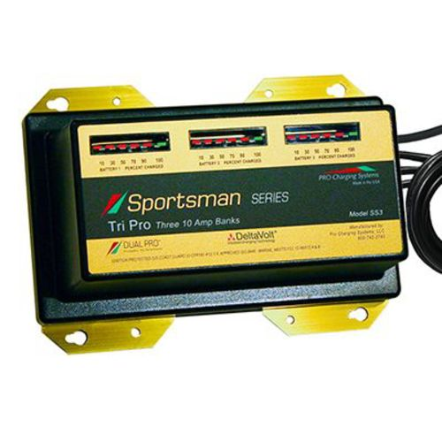 Display product reviews for Dual Pro Sportsman Series 3-Bank Battery Charger