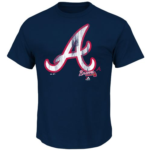 Display product reviews for Majestic Men's Atlanta Braves Takin' 'Em to School T-shirt