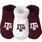 Atlanta Hosiery Company Infants' Texas A&M University Booties 3-Pack