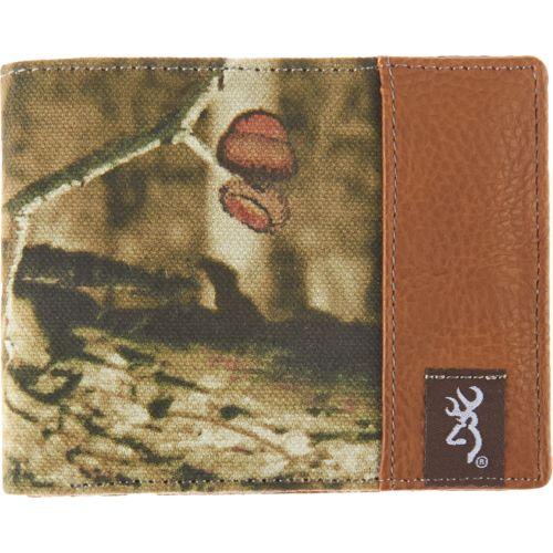Browning Men's Camo Travelers Wallet
