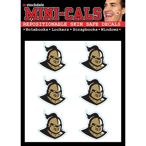 Stockdale University of Central Florida Mini-Cal Decals 6-Pack