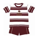 Two Feet Ahead Toddlers' Texas State University Rugby Short Set