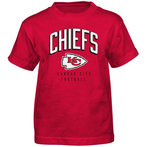 NFL Boys' Kansas City Chiefs Arch Standard Short