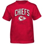 NFL Boys' Kansas City Chiefs Arch Standard Short Sleeve T-shirt