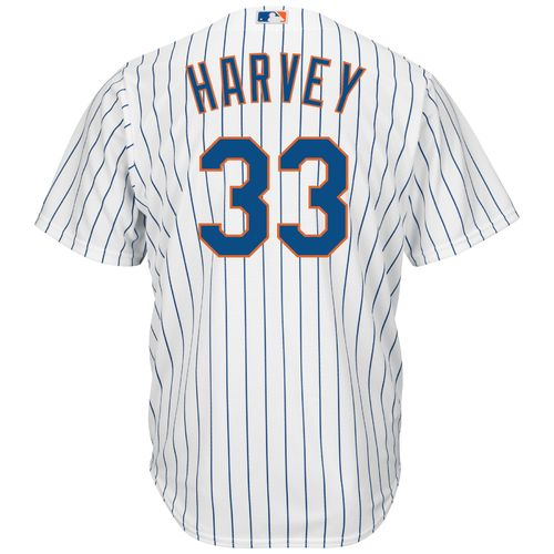 Majestic Men's New York Mets Matt Harvey #33