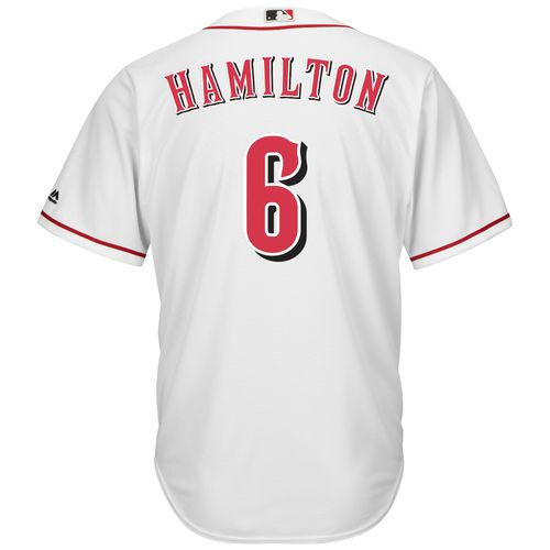 Majestic Men's Cincinnati Reds Billy Hamilton #6 Cool Base® Home Jersey