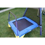 Sportspower Almansor Metal Swing, Slide and Trampoline Set - view number 2
