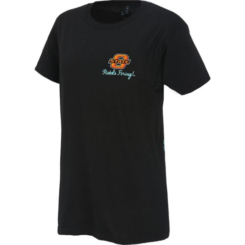 New World Graphics Women's Oklahoma State University Short Sleeve T-shirt