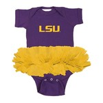 Two Feet Ahead Infants' Louisiana State University Tutu Creeper