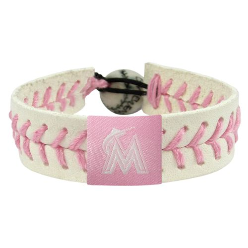 GameWear Miami Marlins Baseball Bracelet