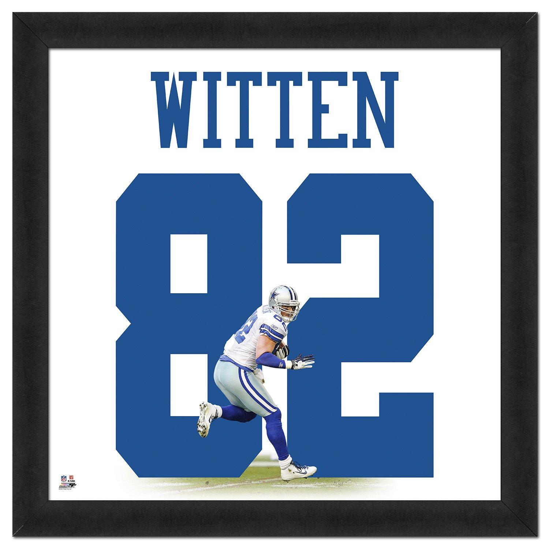 """Photo File Jason Witten #82 UniFrame 20"""" x"""
