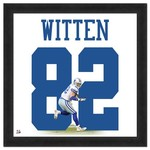 "Photo File Jason Witten #82 UniFrame 20"" x 20"" Framed Photo"