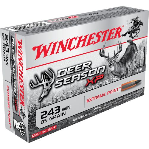 Display product reviews for Winchester Deer Season XP .243 Winchester 95-Grain Rifle Ammunition