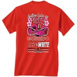 New World Graphics Women's Lamar University Cuter in Team T-shirt