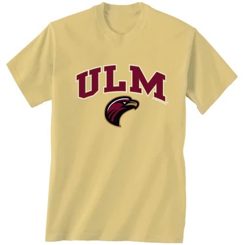 New World Graphics Men's University of Louisiana at Monroe Arch Mascot T-shirt