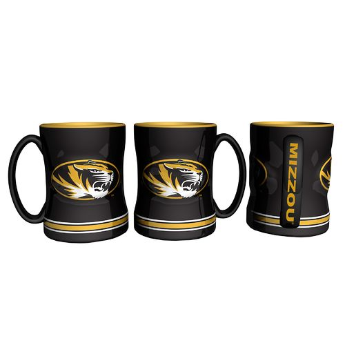 Boelter Brands University of Missouri 14 oz. Relief-Style Coffee Mug