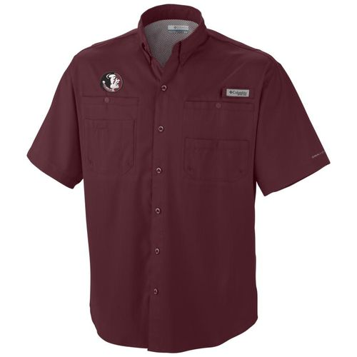 Columbia Sportswear Men's Florida State University Tamiami Short Sleeve Fishing T-shirt