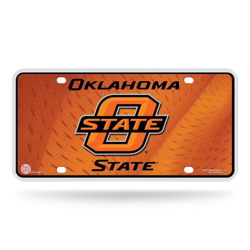 Rico Oklahoma State University Metal Auto Tag - view number 1