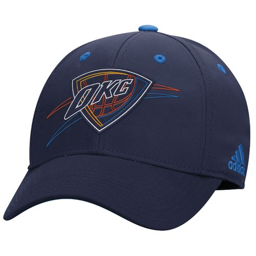 adidas Men's Oklahoma City Thunder Team Nation Structured Flex Cap