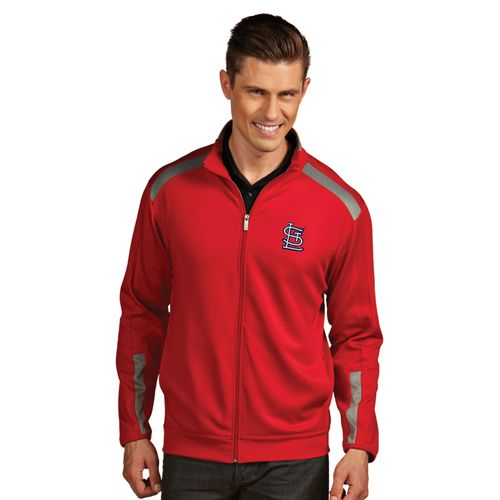 Antigua Men's St. Louis Cardinals Flight Jacket