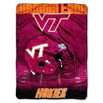 The Northwest Company Virginia Tech Overtime Micro Raschel Throw