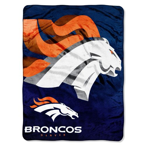 The Northwest Company Denver Broncos Bevel Micro Raschel Throw