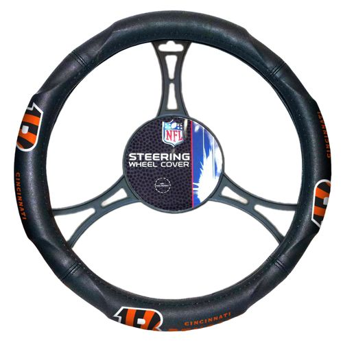 The Northwest Company Cincinnati Bengals Steering Wheel Cover