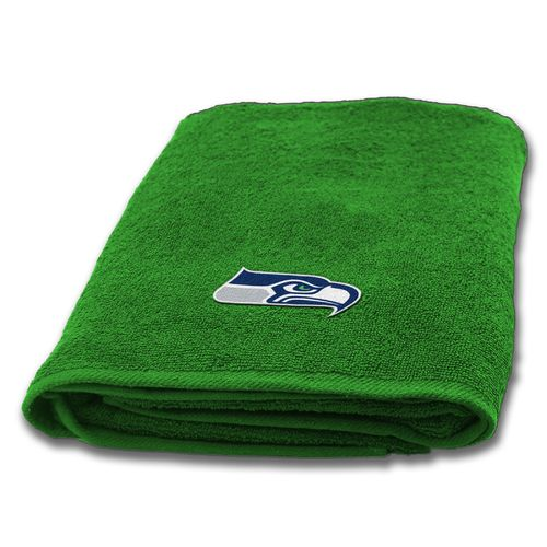 The Northwest Company Seattle Seahawks Appliqué Bath Towel - view number 1