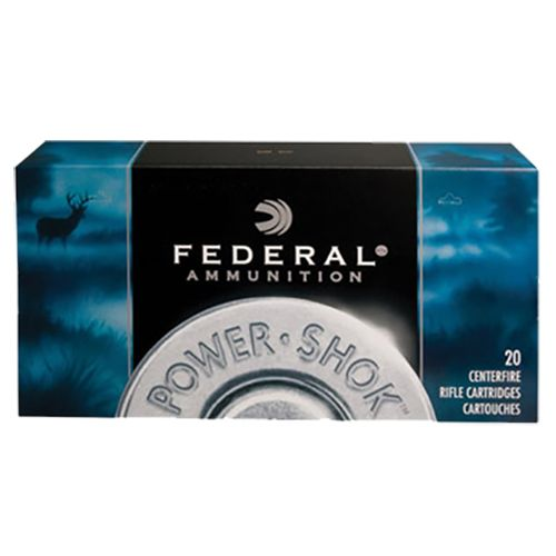 Federal Premium Power-Shok Soft Point RN 30-30 Win 170-Grain Centerfire Rifle Ammunition