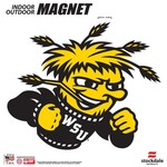 Stockdale Wichita State University Vehicle Magnet
