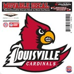 "Stockdale University of Louisville 6"" x 6"" Decal"