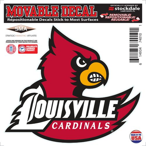 Stockdale University of Louisville 6' x 6' Decal