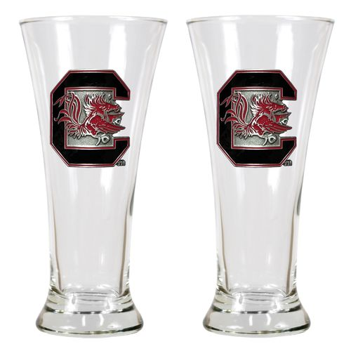 Great American Products University of South Carolina 19 oz. Pilsner Glasses 2-Pack