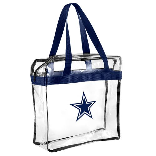 Display product reviews for Team Beans Dallas Cowboys Clear Messenger Bag