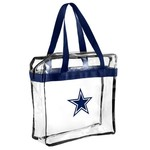 Team Beans Dallas Cowboys Clear Messenger Bag