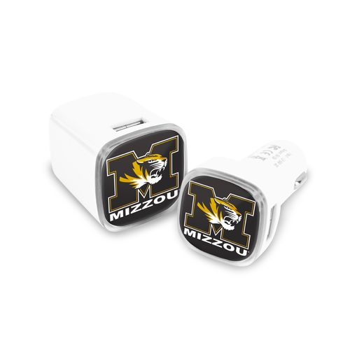 Mizco University of Missouri USB Chargers 2-Pack