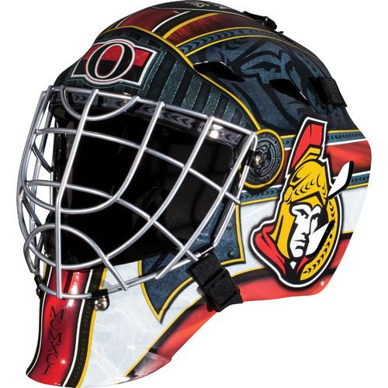 Franklin Boys' Ottawa Senators GFM 1500 Goalie Face