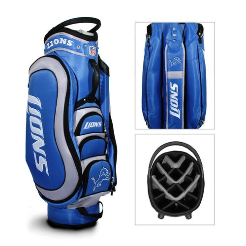 Team Golf Detroit Lions Medalist 14-Way Golf Cart Bag