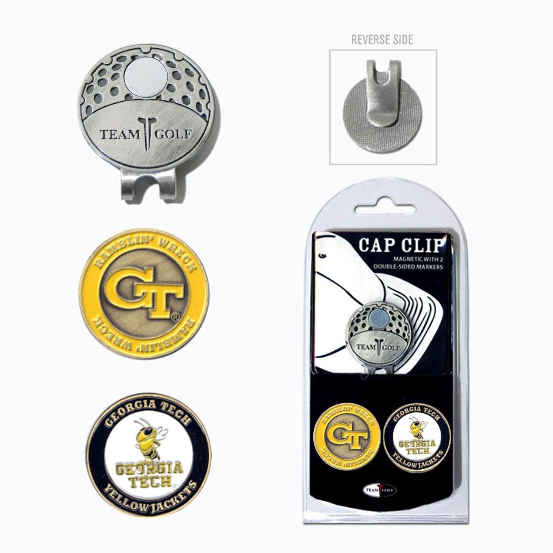 Display product reviews for Team Golf Georgia Tech Marker Cap Clip