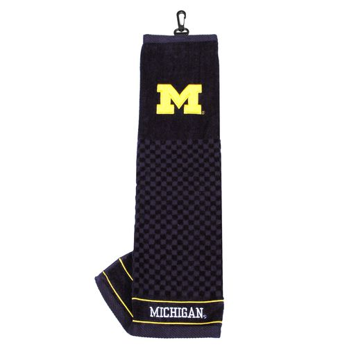 Team Golf University of Michigan Embroidered Towel