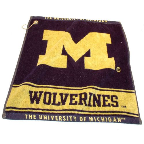 Team Golf University of Michigan Woven Towel