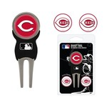 Team Golf Cincinnati Reds Divot Tool and Ball Marker Set - view number 1