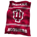 Logo™ Indiana University Ultrasoft Blanket - view number 1
