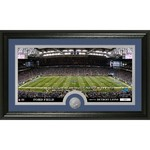 The Highland Mint Detroit Lions Stadium Minted Coin Panoramic Photo Mint