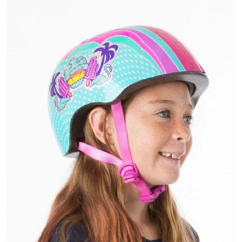 Raskullz Kids' Sweet Stuff Bike Helmet - view number 2