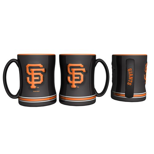 Boelter Brands San Francisco Giants 14 oz. Relief Coffee Mugs 2-Pack