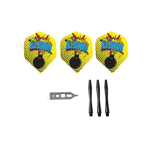 Viper Comix 22-Gram Steel-Tip Darts 3-Pack - view number 3